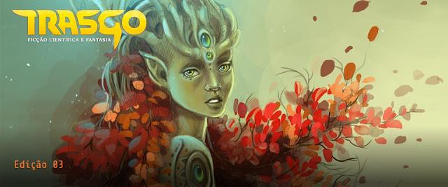 Arte da capa da terceira edição da Trasgo.