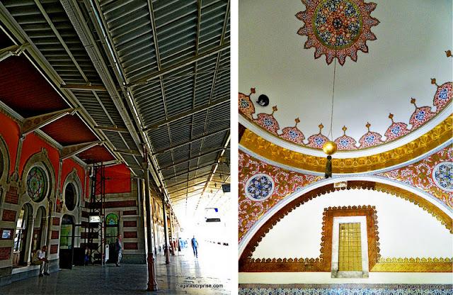 Estação de Sirkeci do Oriente Express e Palácio Topkápi, Istambul
