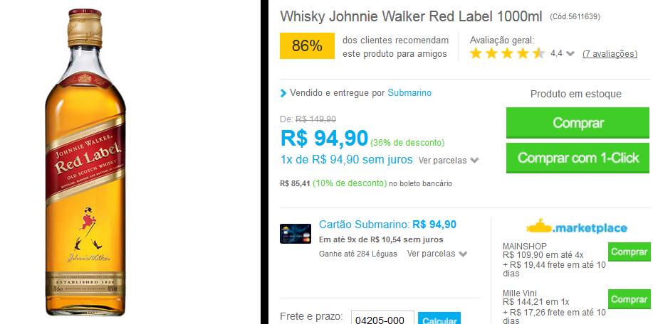 www.submarino.com.br/produto/5611639/whisky-johnnie-walker-red-label-1000ml?opn=comparadoressub&franq=AFL-03-171644