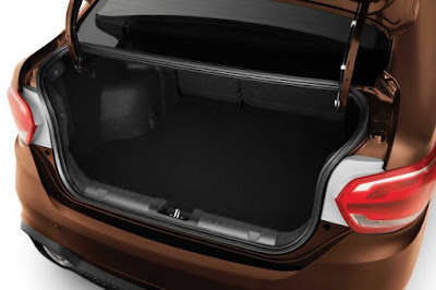 New 2016 Proton Persona sedan boot space