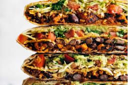 vegan crunchwrap supreme #vegan #vegetarianrecipe