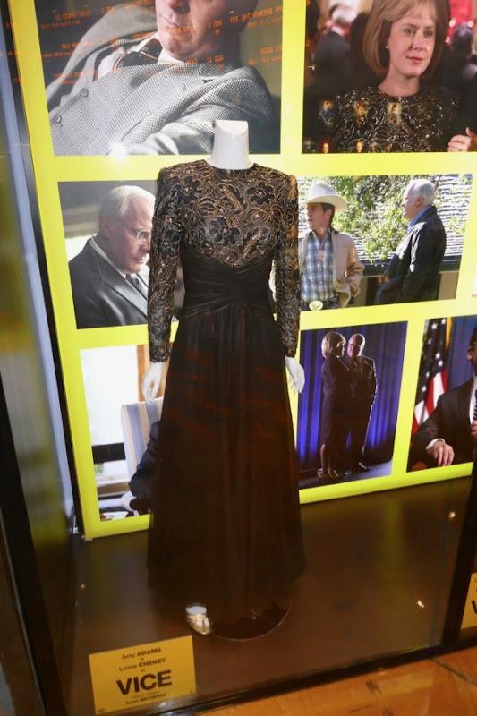 Amy Adams Vice Lynne Cheney gown
