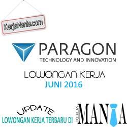 Lowongan Kerja PT Paragon Technology Innovation (Wardah Cosmetics)