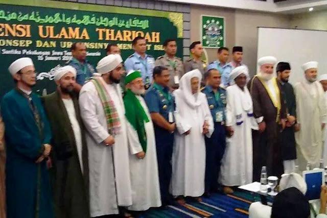 Ulama Thoriqoh Sedunia Berkumpul di Pekalongan pada 14 - 18 januari 2018