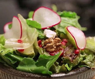 How to make Pear Salad step by step