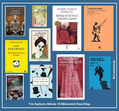 kısa kitaplar,100 sayfa altı