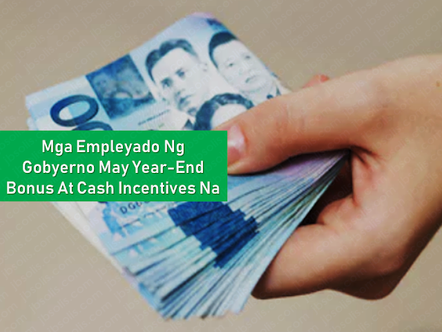 "n spite of rising prices of commodities and services due to the high inflation rate, the Filipinos probably have a reason to celebrate the holiday season, after all, especially those who are working in the government.  Government employees will receive cash incentives and year-end bonus starting November 15, 2018. Just in time for the coming holiday season.       Ads     Sponsored Links  Budget Secretary Benjamin Diokno in a breakfast forum in Manila said: ""In the spirit of the upcoming Christmas season, government workers nationwide will receive their 14th pay or Christmas bonus and cash gift starting tomorrow, November 15.""    According to Diokno, government workers will receive P5,000 worth of cash gifts and a year-end bonus equivalent to their full one-month wages.  The Department of Budget and Management (DBM) has allocated P29.7 billion for civilian employees while a total budget of P29.7 billion allotment was designated for military and uniformed personnel (MUP). The department also allocated P5.6 billion for the cash gifts for civilian personnel and P6.5 billion for MUP.    The release of year-end bonus and cash gift is pursuant to Budget Circular No. 2016-4, which mandates that the incentives be given not earlier than November 15 of the current year to qualified government personnel.  Eligible to receive the bonus and incentives are those in government service as of October 31 of the current year and with at least four months of service from January 1 to October 31.  Also qualified to receive the bonus and cash gift are those who have retired or separated from government service before October 31 of the same year and have rendered at least a total of an aggregate of four months of service from January 1, shall be granted a pro-rated year-end bonuses and cash gift within the month of retirement or separation.  ""The 13th-month pay and other benefits, including productive incentives and Christmas bonuses, are exempted from tax if they do not exceed P90,000, according to Republic Act 10963 or the Tax Reform for Acceleration and Inclusion (TRAIN) law,"" Diokno said.  ""On top of these bonuses, government employees can also look forward to receiving their Productivity Enhancement Incentive, which will be released starting December 15,"" he said.   Filed under the category of rising prices , high inflation rate, holiday season, Government employees, cash incentives , year-end bonus"