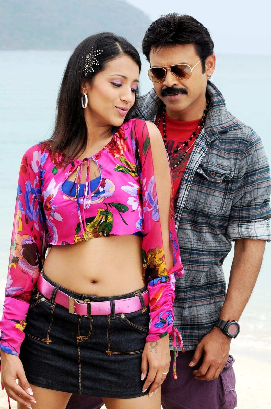 Trisha hd pix from namo  venkatesa