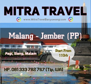 TRAVEL MALANG JEMBER (PP)
