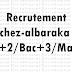 Recrutement chez-albaraka Bac+2/Bac+3/Master