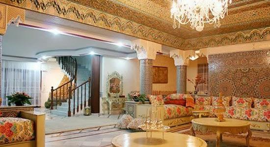 Dcoration salon marocain Dcoration pour salon marocain en bois