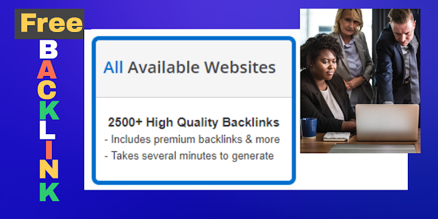 Off Page SEO Auto Backlink Generator tools