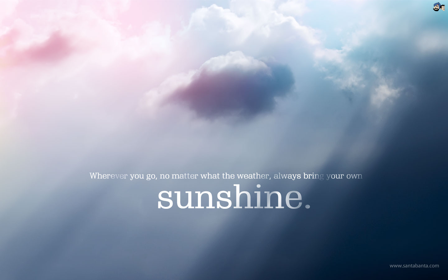 Love Quote For Him And Her Early Morning Sunshine: Motivational Wallpapers