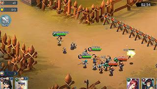 Warlords battle: Heroes Mod Apk + Official APK