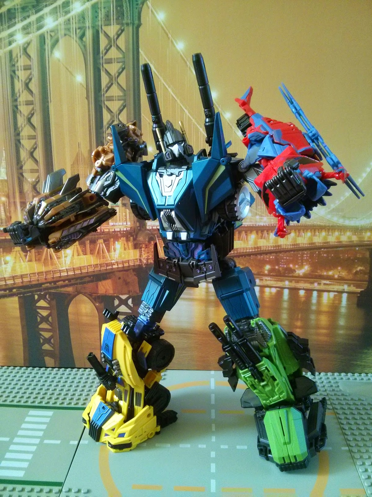 microblaze military titans bruticus fall of cybertron