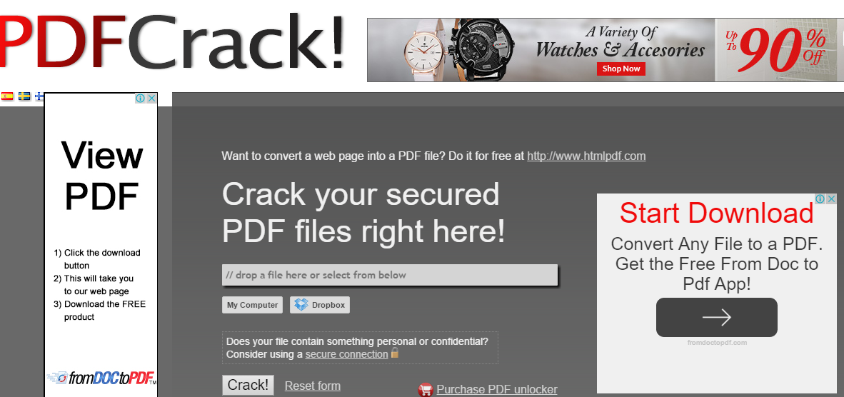 TIPS] How To Crack/Unlock Your PDF File Security Online