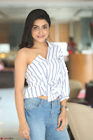Avantika Mishra in One Shoulder Crop Top and Denim Jeggings ~  Exclusive 057.JPG