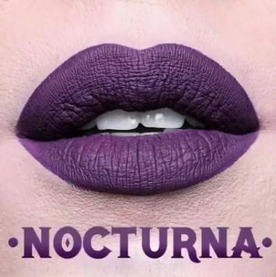 kat von d Everlasting Liquid Lipstick lip swatch nocturna