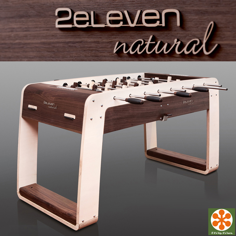 Made In Germany And Environmentally Friendly, The Game Table Is Crafted Of  Maple And Walnut Woods And Accented With Fine Leather And Aluminum And Can  Be ...