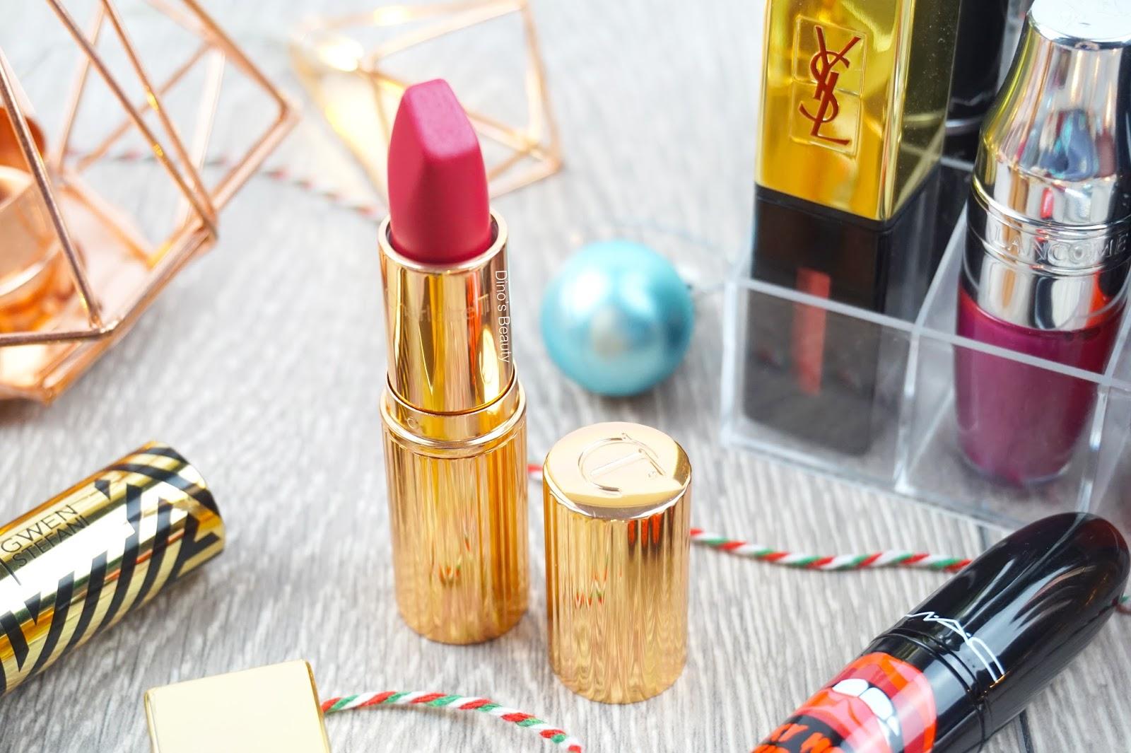 bbloggers, beauty, beauty bloggers, beauty review, Charlotte Tilbury, Matte Revolution, The Queen, Matte, pigmented, bold, red lips