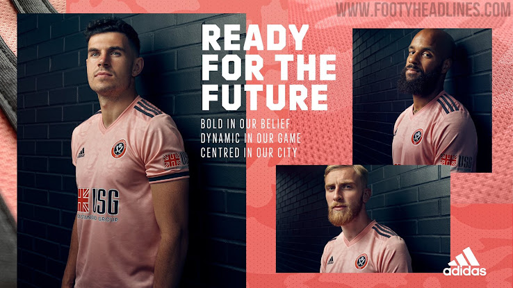 Adidas Sheffield United 20-21 Home & Away Kits Released - Footy ...