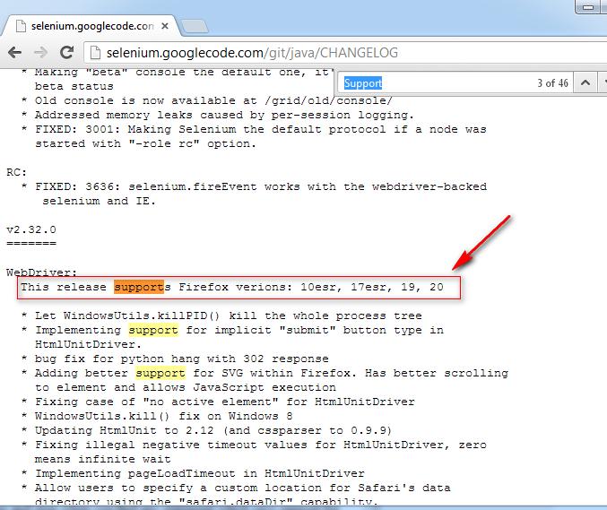 Firefox 45 Changelog