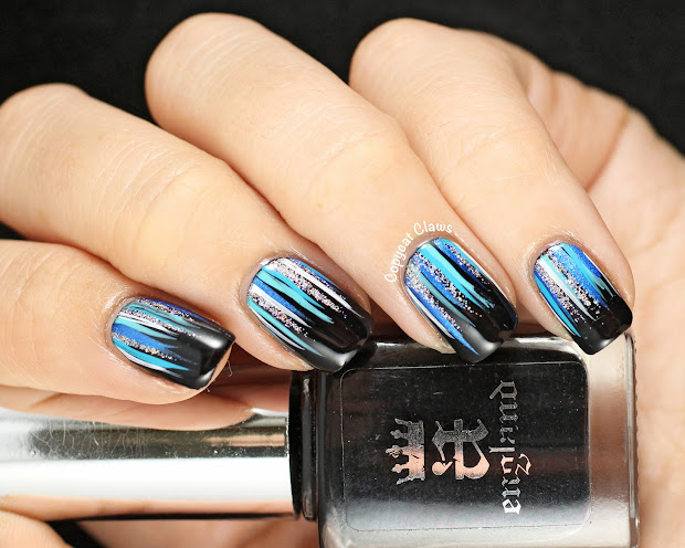copycat claws waterfall nail art