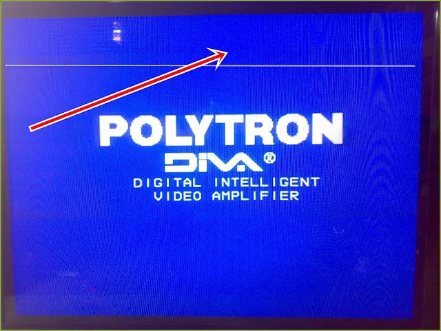 "Perbaikan Kerusakan  TV Polytron DIVA 29"" - Model: PS 3025 (Gambar Bergaris) Vertikal"