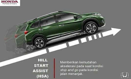 Fungsi dari Hill Start Assist