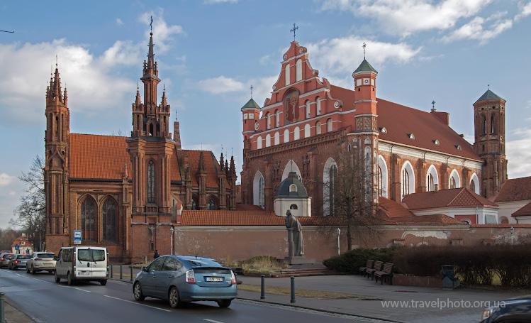 Костелы Святой Анны и Бернардинцев