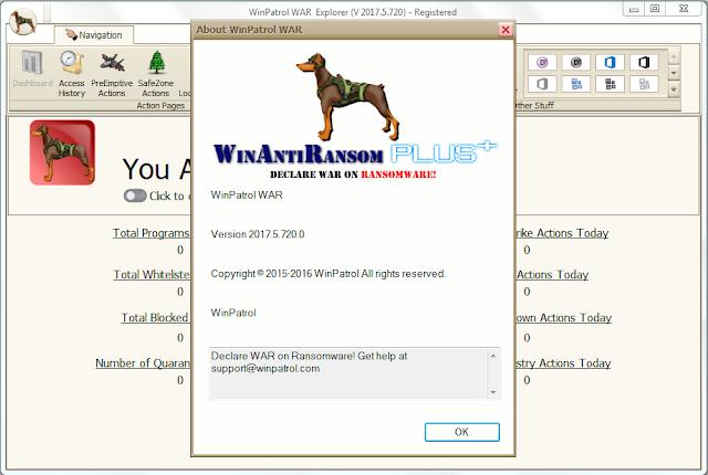 Screenshot WinPatrol WAR 2017.5.720 Full Version