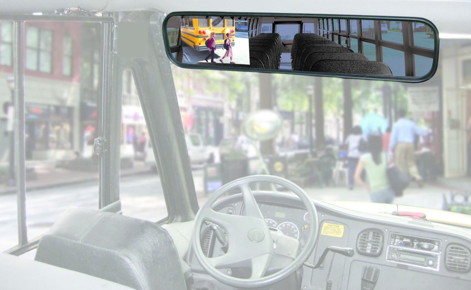 Smart Vision Rear View Mirror Monitor Backup Camera System