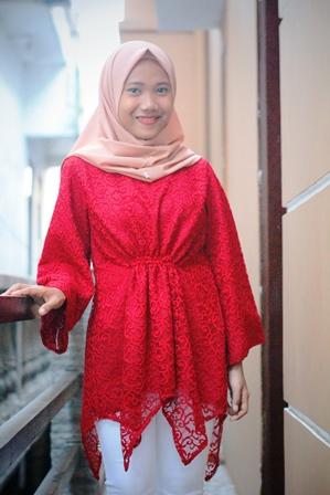 Hijab Outfit Of The Day Model Atasan Brokat Stylish Model Baju