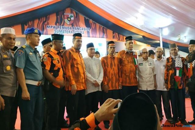 Hadiri Ultah PP, Ustadz Abdul Somad Dilantik jadi Anggota Pemuda Pancasila