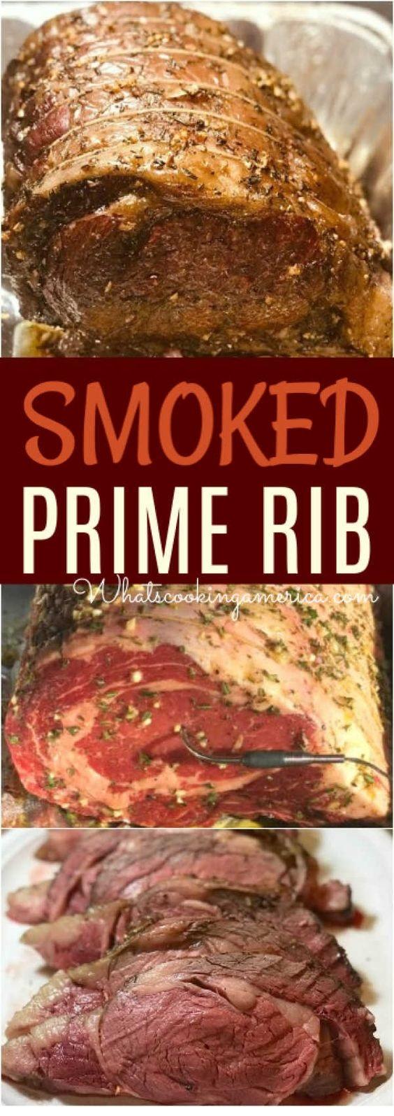Prime Rib Recipe & Smoking Instructions