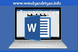 Cara Membuka Dokumen Yang Telah Tersimpan Pada Microsoft Word