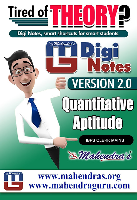 Digi Notes - 2.0 | 1. Expected Questions IBPS Clerk Mains Special | 19 .01. 2018