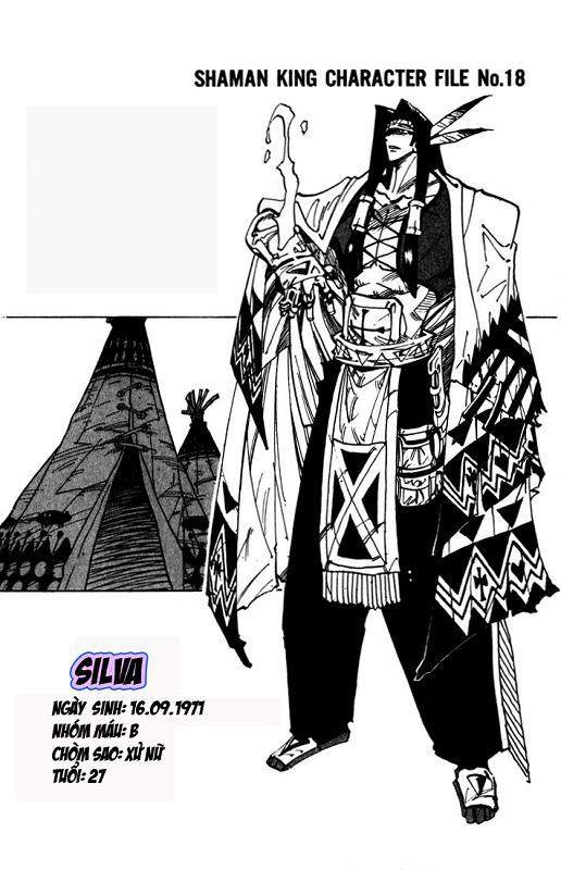 Shaman King [Vua pháp thuật] chap 34 trang 21