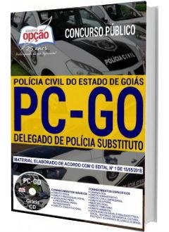 Apostila Concurso PG-GO 2018