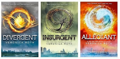 Divergent Trilogy (Divergent, Insurgent, Allegiant) by Veronica Roth - www.traceeorman.com