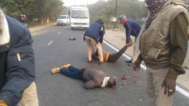 सड़क हादसे में घायल शिक्षक का  इलाज के दौरान आज निधन