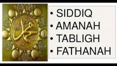 Tentang Sifat Shidiq