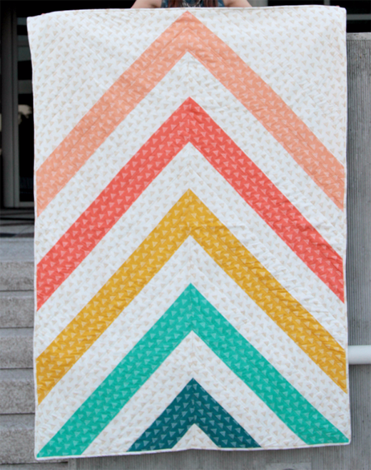Spectrum Quilt designed by AGF-STUDIO for Live art gallery fabrics