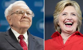 Warren Buffett Joins The Billionaires-For-Hillary Club