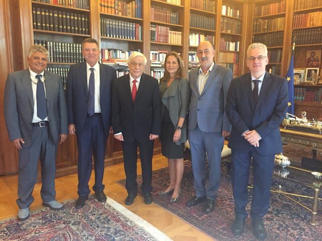 Με τον Πρόεδρο της Δημοκρατίας ο Γιάννης Χεκίμογλου