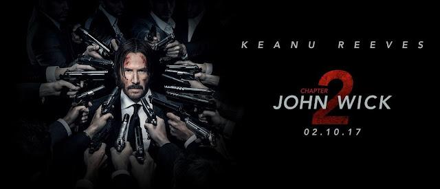 Poster al filmului John Wick 2