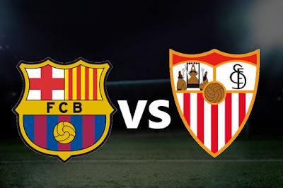 مباشر مشاهدة مباراة برشلونة و اشبيلية 6-10-2019 بث مباشر في الدوري الاسباني يوتيوب بدون تقطيع