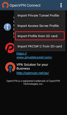 Cara Menggunakan OpenVpn di Android Lengkap