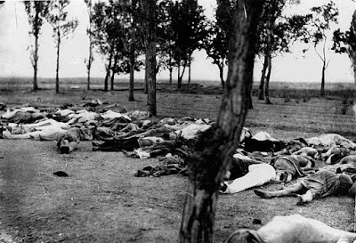 Corpses of Armenians during World War 1