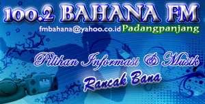 Radio Bahana fm 100.2 Padangpanjang